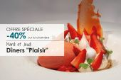 "Offer Tuesdays & Thursdays ""Plaisir"""