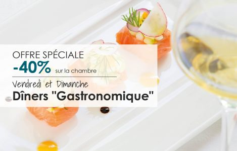 Offer Fridays & Sundays Gastronomic