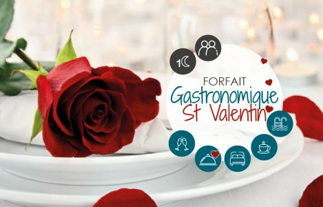 Valentine's Day Gastronomic Stay